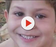 Rafael Rodrigues de Oliveira de 8 anos morre após quatro dias internado em Goiânia (Foto: Reprodução/ TV Anhanguera)