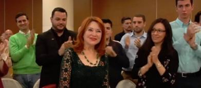 La madre de Irene Villa, nueva imagen conocida de VOX: 'Muchísimas gracias y viva España'