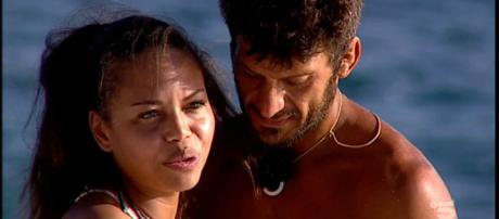 Incontro tra Marco Maddaloni e la moglie Romina