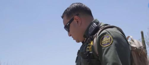 Border Patrol: With security comes danger - The Wall. [Image source/azcentral.com and The Arizona Republic YouTube video]