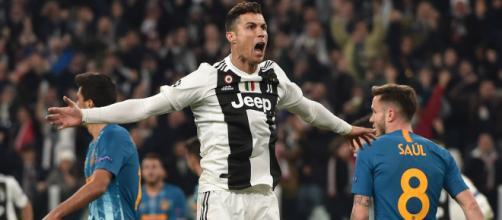 Cristiano metió 3 goles en la remontada de la Juve en casa. - goal.com