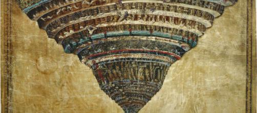 Divine Comedy Illustrated by Botticelli - Wikipedia - wikipedia.org