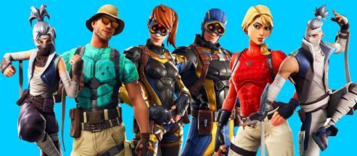 Fortnite's latest patch leaks new skins. [image credits: AgentC2008/YouTube screenshot]