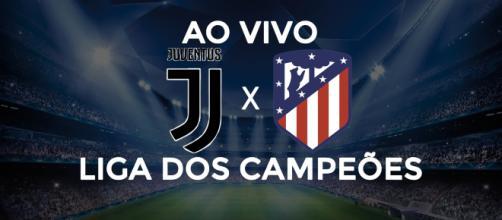 Juventus x Atlético de Madrid ao vivo. (Foto: Reprodução/Diogo Marcondes)