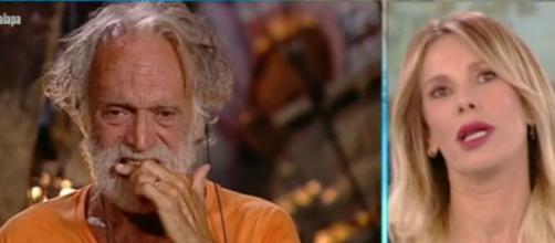 La Marcuzzi si scusa in diretta nella puntata di ieri dell'Isola dei Famosi.