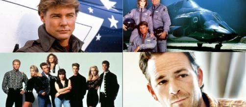 Luke Perry et Jan Michael Vincent
