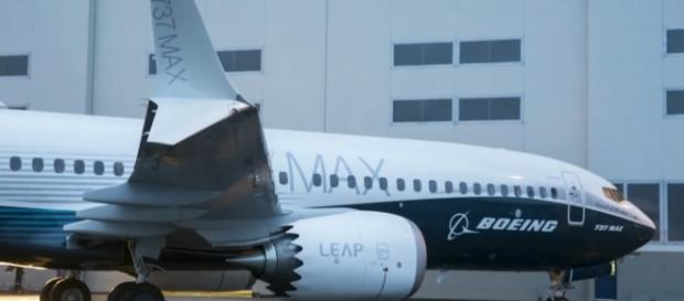 Ethiopian Airlines Flight 302, a Boeing 737 Max 8 plane, crashed on March 10, 2019 [Image source: CBS News/YouTube]