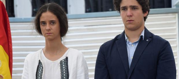Victoria Federica y Froilán en imagen