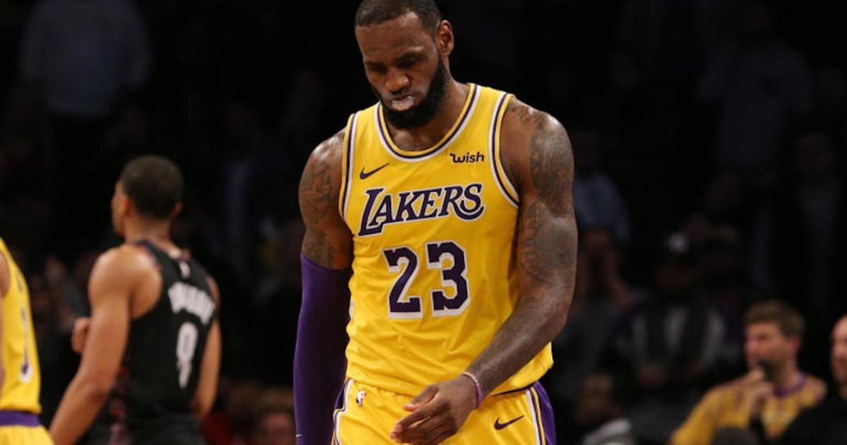 9680163af LeBron James reacts to possibly missing the playoffs for the first time in  14 years