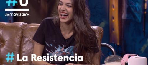 Ana Guerra fue entrevistada por David Broncano en el programa La Resistencia