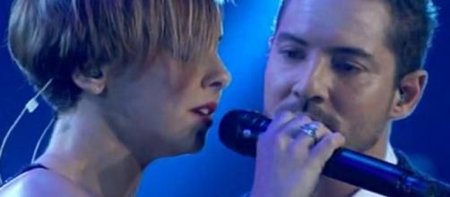 Chenoa y David Bisbal en el concierto de 'OT' / RTVE