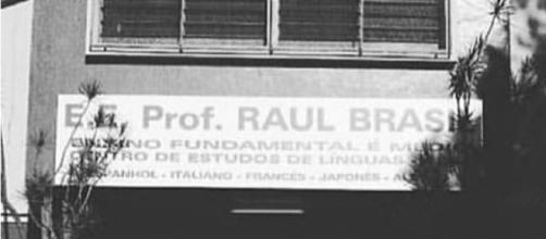 Escola Raul Brasil, em Suzano (Reprodução Instagram)