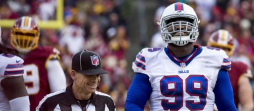 Marcell Dareus made two Pro Bowls in his time with the Bills. [Image Source: Flickr | Keith Allison]