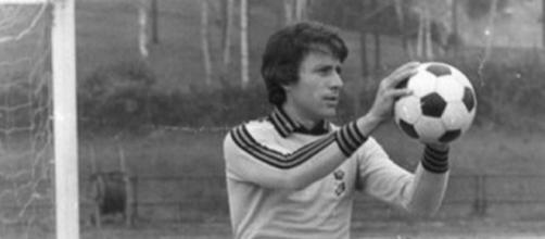 Renato Cipollini nel suo periodo all'Inter: fu il 'secondo' di Bordon dal 1977 al 1982