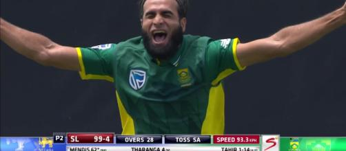 South Africa vs Sri Lanka live streaming (Image via skysports screencap)
