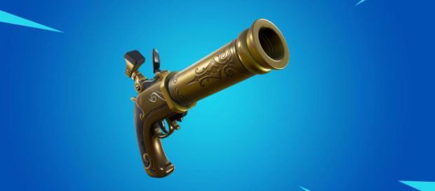 New Fortnite Flintlock pistol leaked. [image source: Fortnite & eSports -Zakky/YouTube]