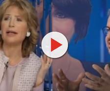 Lilly Gruber - Borghi scontro in diretta tv