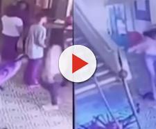 Massacre em Suzano foi registrado parcialmente por câmeras na escola (Reprodução RedeTV)