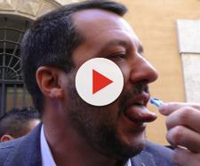 Matteo Salvini si sottopone al test antidroga de Le Iene