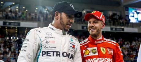 Lewis Hamilton e Sebastian Vettel, i due grandi favoriti del Mondiale di F1 2019