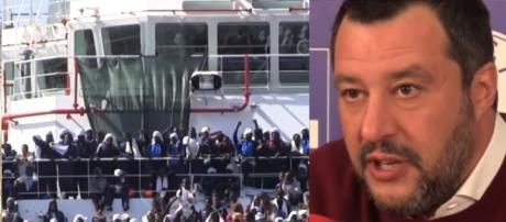 Sui migranti le politiche di Matteo Salvini sembrano fare effetto