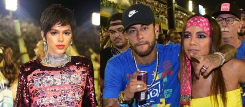 Anitta deu o que falar após ser vista com Neymar no Carnaval. (Imagem: Reprodução Instagram)
