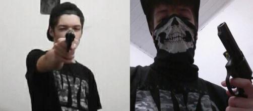 Atirador de Suzano postou fotos na rede social antes do crime. (Foto: Reprodução/Arquivo Pessoal)