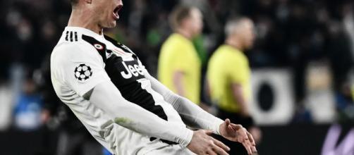 Cristiano Ronaldo e l'esultanza con l'Atletico: ora rischia una squalifica
