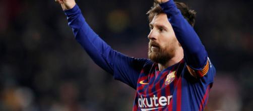 Lionel Messi étincelant contre l'OL - FC Barcelone - Blaugranas.fr - blaugranas.fr