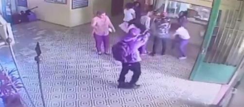Massacre ocorreu em uma escola de Suzano/SP. (Imagem: Reprodução câmera de segurança Escola Estadual Raul Brasil)