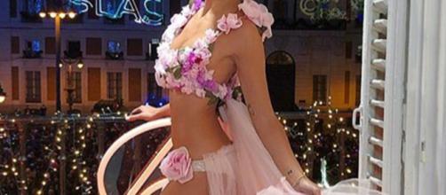 Rosa Monteso ha hecho el vestido de Pedroche con material reciclado