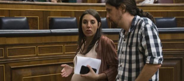 Irene Montero y Pablo Iglesias en imagen