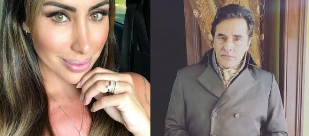 Jaque disse que achava o máximo ficar com o ex de Xuxa Menghel (Foto - Instagram)