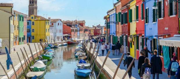 Venice has many unusual attractions. This one is Burano. [Image Michaela Loheit/Flickr]