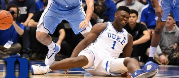 Zion Williamson is expected to be back for the ACC Tournament, but might not be strong enough. [Image Credit] ACC Digital Network/YouTube