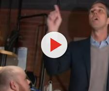 Beto O'Rourke is running for President. [Image source/MSNBC YouTube video]