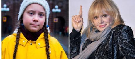"""Rita Pavone Greta Tweet: """"Quella bambina con le treccine è da horror"""" - tpi.it"""