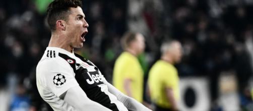 Cristiano Ronaldo e l'esultanza con l'Atletico: rischia la squalifica.