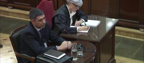 El juicio del procés en directo. Trapero admitió la tensión social el Cataluña