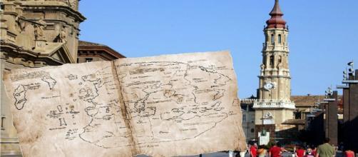 El mapa de Vinlandia se descubrió en La Seo de Zaragoza.