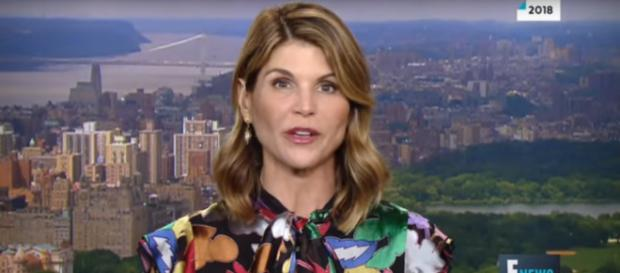 Lori Loughlin is no longer at home on When Calls the Heart or on the Hallmark Channel. [Image source: ENews-YouTube]