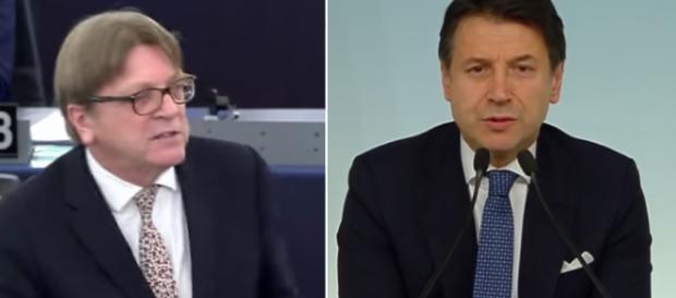 Verhofstadt aveva accusato Conte di essere un burattino
