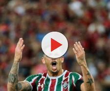 Com nove gols em 13 jogos, Luciano é um dos principais nomes do Fluminense em 2019 (Foto: Reprodução / Lucas Merçon)