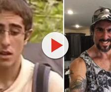 Marcos Mion antes e depois (Reprodução Viva/Instagram)