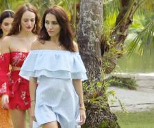 Temptation Island 2019: Anastasiya (vorne) ist wieder da.