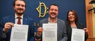 Salvini sul Made in Italy: proposta legge per togliere il marchio a chi produce all'estero