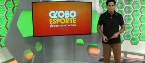 Apresentador do 'Globo Esporte Ceará' irá processar ex-chefe. (Foto: Reprodução)