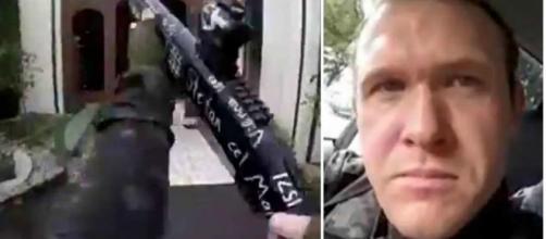 Assassino entra em duas mesquitas e transmite tudo ao vivo (Foto: Reprodução)
