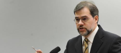 Dias Toffoli comenta decisão do STF sobre encaminhar casos de corrupção à Justiça Eleitoral - (Crédito: Agência Brasil)