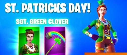 Fortnite new leaks suggest St. Patrick day outfits are coming. [Source: Gattu/YouTube]